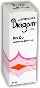 Biogam Mangaan (Mn) Kobalt (Co) 60ml