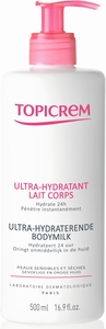 Topicrem Ultra-Hydraterende Lichaamsmelk 500ml