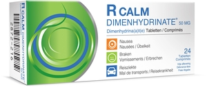 R Calm Dimenhydrinate 24 Tabletten