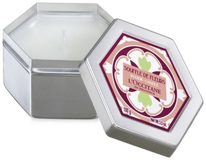 L'occitane Home Candle White Flowers 100g