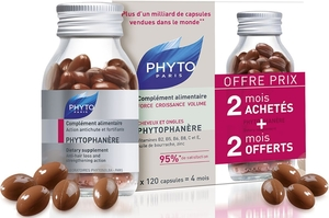 Phytophanère Duo 2 x 120 Capsules (2e product aangeboden)