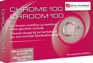 Chroom 100 30 tabletten