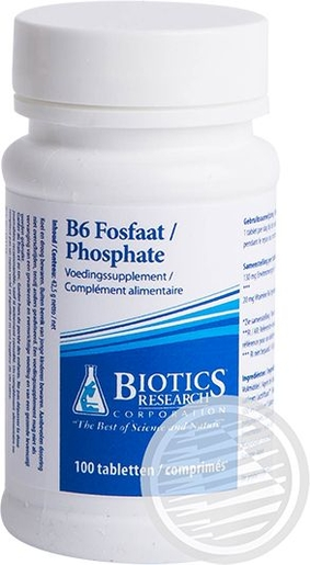 B6 Phosphate 100 Tabletten (Biotics)