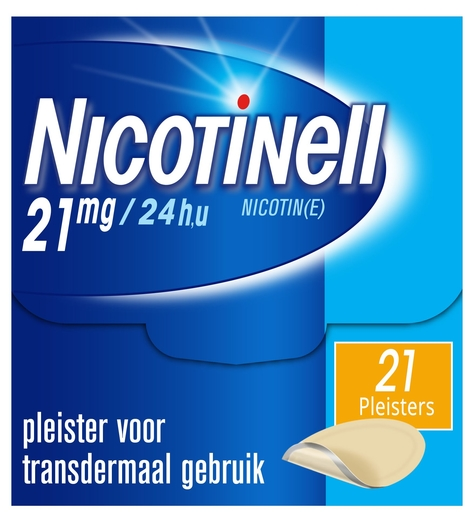 Nicotinell 21mg / 24u 21 patches | Stoppen met roken