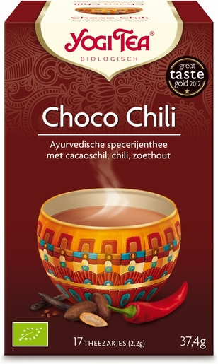 Yogi Tea Infusion Choco Chili Bio 17 Sachets | Réconfort