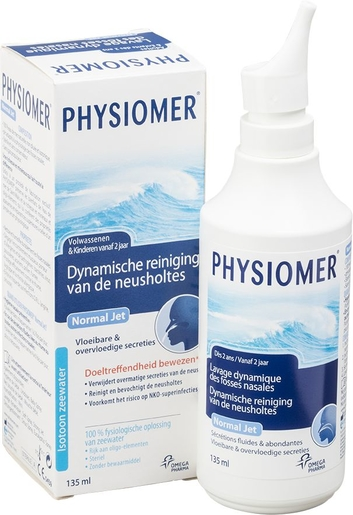 Physiomer Normal Jet Spray Nasal 135ml | Nez