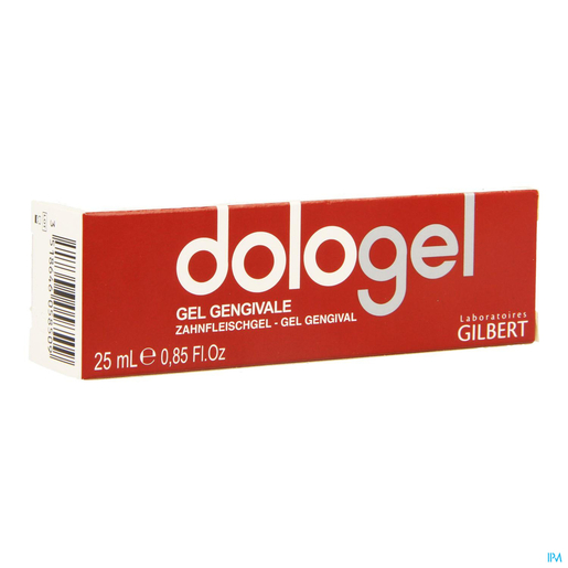 Gilbert Dologel Baume Gingival 25ml | Bouche - Dentition