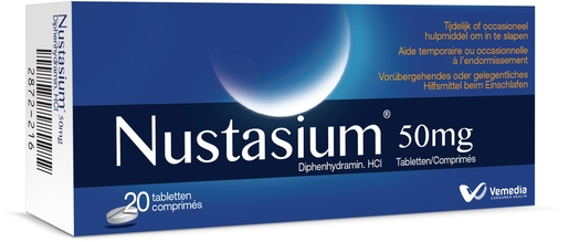Nustasium 20 Tabletten | Nachtrust