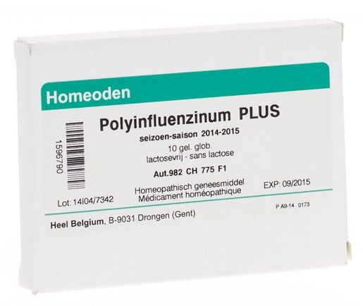 Polyinfluenzin.+ Gel Glob 10 Homeod