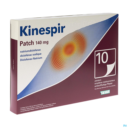 Kinespir Patch 140 Mg Emplatres 10 | Muscles - Articulations - Courbatures