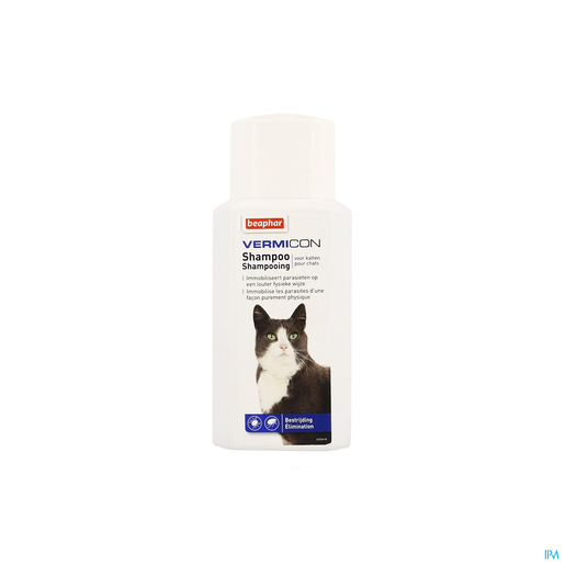 Beaphar Vermicon Shampooing Chat 200ml