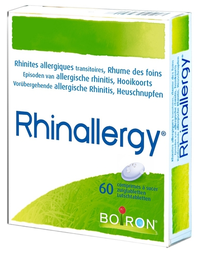 Rhinallergy 60 Tabletten Boiron | Allergieën