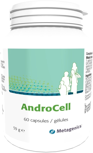 AndroCell 60 Capsules | Stimulerende middelen