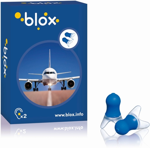 Blox Avion 1 Paire Protection Auditive Anti-Pression | Protection oreilles