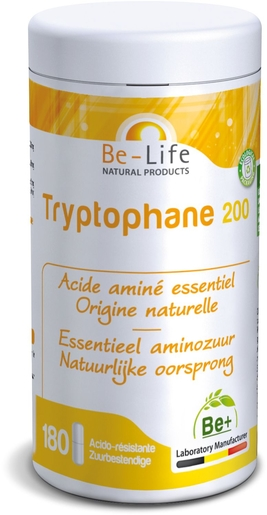 Be-Life Tryptophane 200 180 Gélules | Sommeil