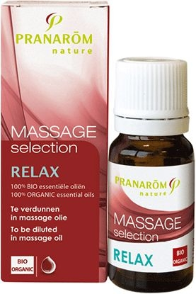 Pranarôm Massage Selection Relax Essentiële Olië 10ml | Stress - Ontspanning