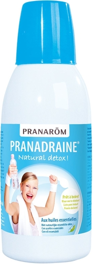 Pranarôm Pranadraine Natural Detox Solution Buvable 500ml | Minceur