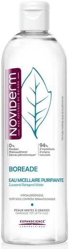 Noviderm Boreade Zuiverend Micellair Water 400ml | Acné - Onzuiverheden