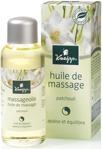 Kneipp Huile Massage Patchouli 100ml | Massage