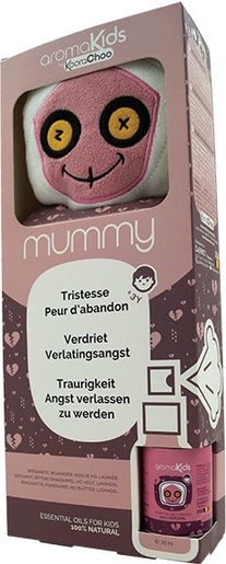 AromaKids Kit Mummy Spray 30ml + Peluche | Stress - Relaxation