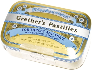 Grether's Pastilles Blackcurrant 110g