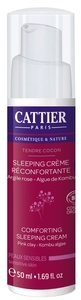 Cattier Tendre Cocon Sleeping Crème Réconfortante Bio 50ml