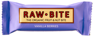 Raw Bite Baies Rouges Vanille Bio 50gr