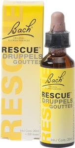 Bach Flower Rescue Gouttes 20ml