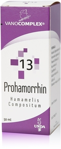 Vanocomplex N13 Prohamorrhin Gouttes 50ml Unda