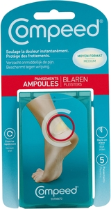 Compeed Pansement Ampoules Medium 5