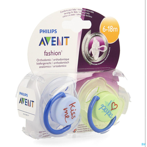 Philips Avent Sucette Fashion Double 6-18m 2