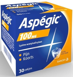 Aspegic 100mg 30 Sachets