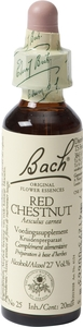 Bach Flower Remedie 25 Red Chestnut 20ml