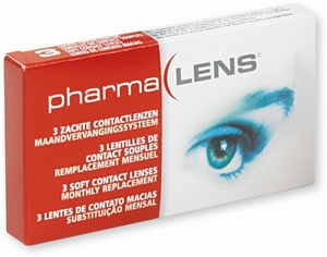 PharmaLens Monthly -3,50 3 Lentilles