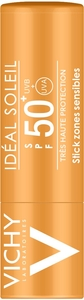 Vichy Ideal Soleil IP50+ Stick 9g Zones Sensibles