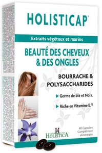 Holisticap Soin Cheveux-Ongles 60 Capsules