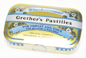 Grether's Pastilles Blackcurrant 60g