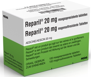 Reparil 20mg 100 Comprimés Gastro-résistants