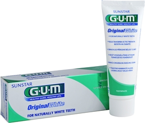 GUM Dentifrice Original White 75ml