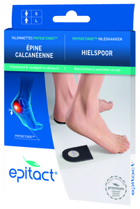 Epitact Talonette Physio Choc Homme 1 Paire