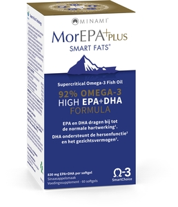 MorEPA Plus Smart Fats 60 Softgels