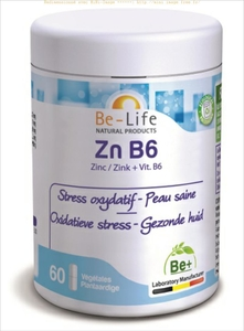 Be-Life Zn B6 60 Gélules