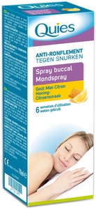 Quies Spray Buccal Anti Ronflement Miel-citron70ml