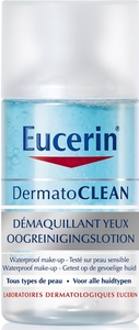 Eucerin DermatoCLEAN Démaquillant Yeux Wtp 125ml