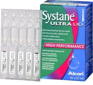 Systane Ultra Gouttes Oculaires Unidoses 30x0,7ml