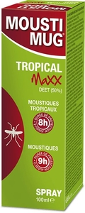 Moustimug Tropical MaXX 50% Deet Spray 100ml