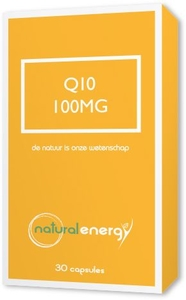 Q10 Energy 100mg Natural Energy 30 Capsules
