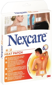 NexCare 3M ColdHot Heat Patch 2 Pieces