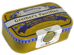 Grether's Pastilles Blueberry Sans Sucre 110g