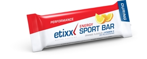 Etixx Energy Sport Bar Orange 1x40g